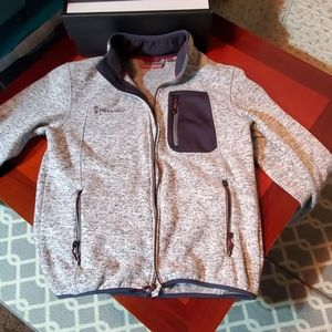 Free country, men's sweater jacket.